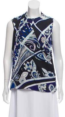 Emilio Pucci Silk Sleeveless Top