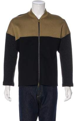 Marni Colorblock Zip-Up Jacket