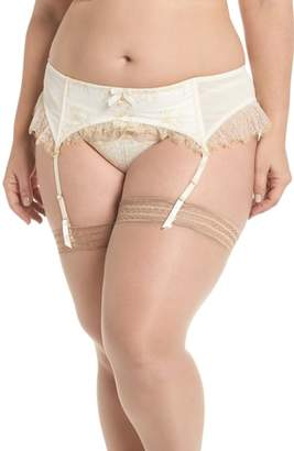 Playful Promises Karine Lace Garter Belt