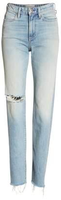 Simon Miller Distressed Slim Leg Jeans