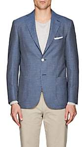Piattelli MEN'S STRIPED WOOL-BLEND TWO-BUTTON SPORTCOAT
