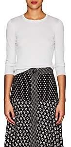 Barneys New York Women's Metallic Silk-Blend Sweater - Silver