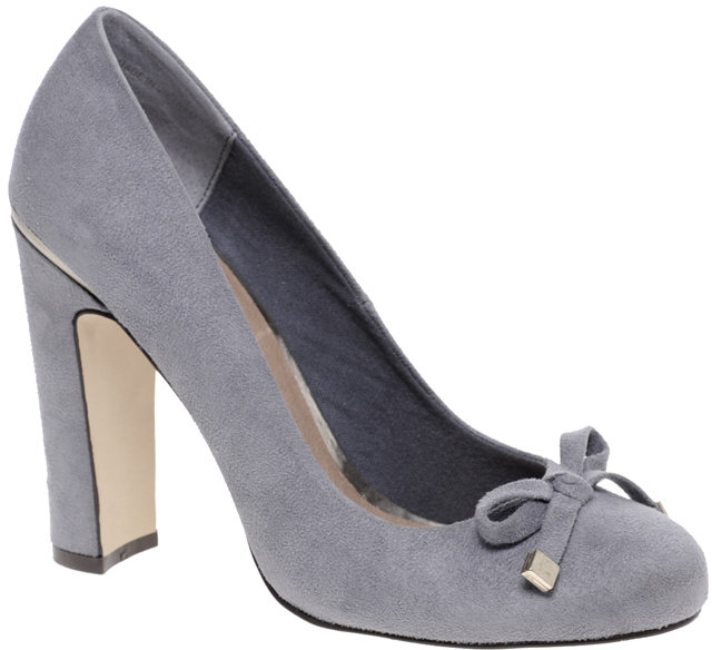 ASOS SNOW BERRY Metal Trim Court Shoe