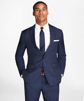 Brooks Brothers Pinstripe Wool Suit Jacket