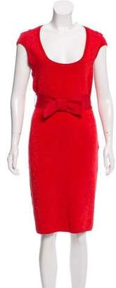 Zac Posen Belted Bodycon Dress