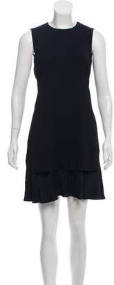 Theory Sleeveless Asymmetrical Dress