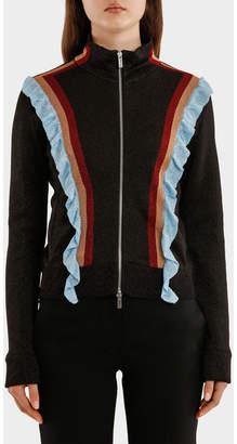 Marco De Vincenzo Multicolor Striped Lurex Jacket