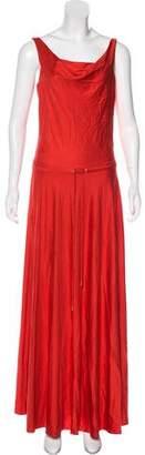 Diane von Furstenberg Silk Blend Maxi Dress