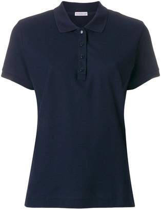 Moncler slim fit polo shirt