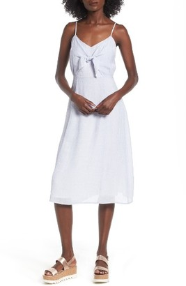 Women's Lush Front Tie Dress $49 thestylecure.com