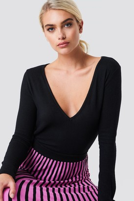Na Kd Trend V-neck LS Knitted Sweater