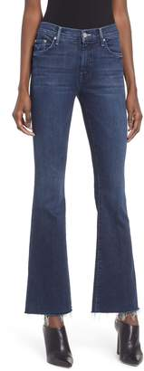 Mother Frayed Bootcut Jeans