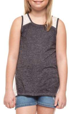 Dex Girl's Crochet Tank Top