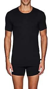 Derek Rose Men's Alex Stretch-Modal T-Shirt - Black