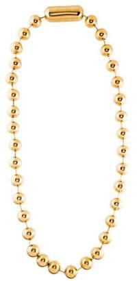 Balenciaga Oversize Ball Chain Necklace