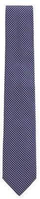 BOSS Men's Dot Jacquard Tie, Lavender/Pink