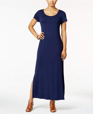 Style&Co. Style & Co Short-Sleeve Maxi Dress, Created for Macy's