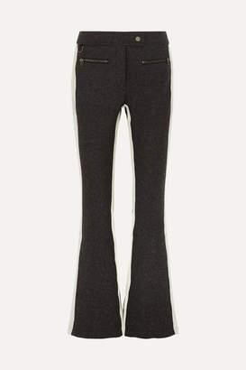 Erin Snow - Phia Flared Stretch-cady Ski Pants - Gray