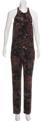 A.L.C. Sleeveless Silk Jumpsuit