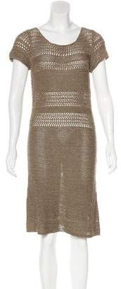 Kristina Ti Knit Knee-Length Dress w/ Tags