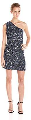 Cynthia Rowley Women's All Over Sequin One Shoulder Dress