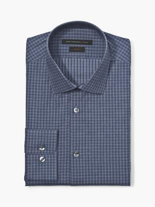 John Varvatos Slim Fit Tonal Check Shirt