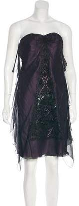 Christian Lacroix Silk Embellished Dress