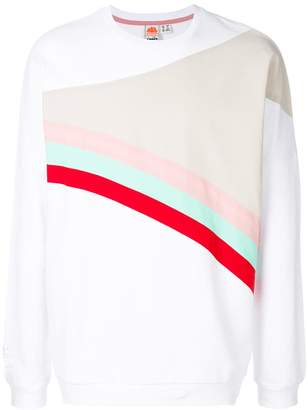 Diadora colour block sweatshirt