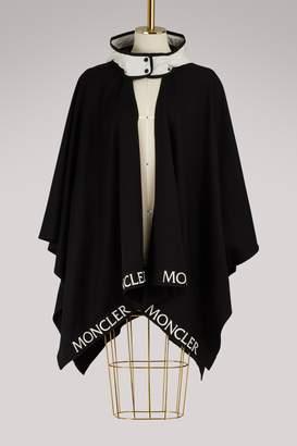 Moncler Logo cape