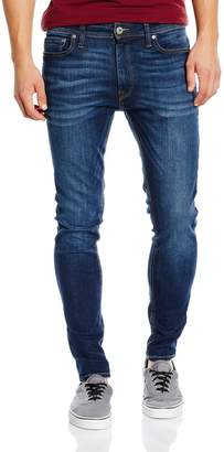 Jack and Jones Mens Liam Skinny Stretch Jeans Size 30 Length 32