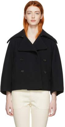 Chloé Navy Wool Jacket