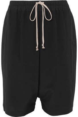Rick Owens Silk Shorts - Black