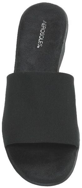 Aerosoles Badminton Slide Sandals - Wedge Heel (For Women)