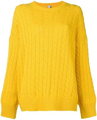 Loewe cable knit sweater