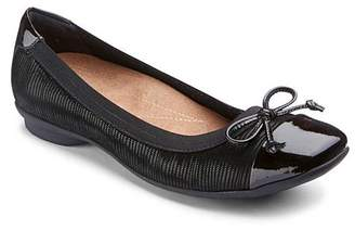 16a55576dec Clarks Candra Glow Shoes with Elasticated Topline Wide EE Fit