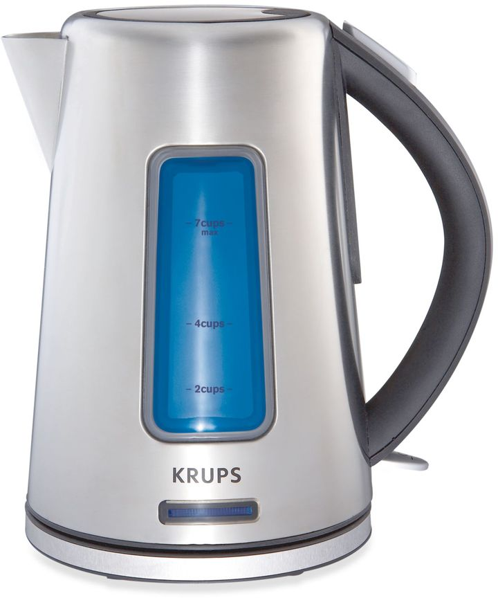 Krups 1.8-Quart Stainless Steel Cordless Electric Kettle
