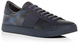 Burberry Men's Ritson Leather Low-Top Sneakers