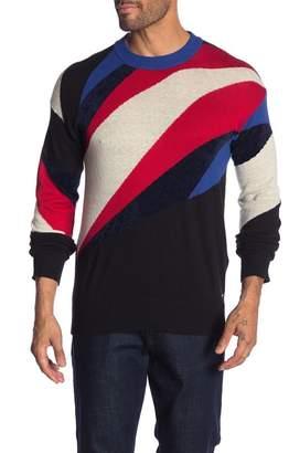 Diesel Printed Pullover Sweater