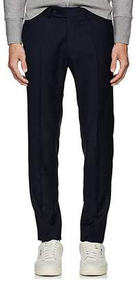 Brooklyn Tailors Men's Wool Flat-Front Trousers