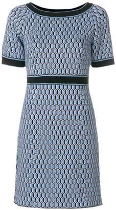 Charlott shortsleeved printed dress
