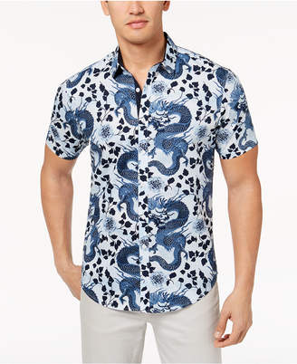 INC International Concepts I.n.c. Men's Dragon Shirt, Created for Macy's