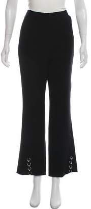 Thierry Mugler High-Rise Flared Pants w/ Tags