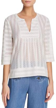 Ella Moss Lace-Detailed Blouse