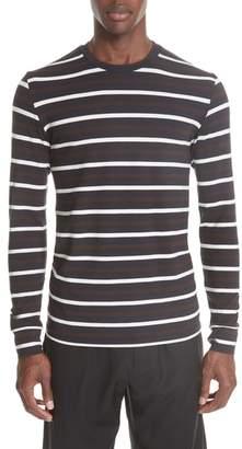 3.1 Phillip Lim Technical Stripe Long Sleeve T-Shirt
