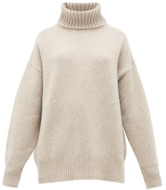 BEIGE Extreme Cashmere - No. 20 Oversize Xtra Cashmere Blend Sweater - Womens