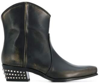 Miu Miu cowboy ankle boots