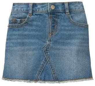 Crazy 8 Frayed Denim Skirt