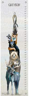 Oopsy Daisy Fine Art For Kids Woodland Buddies Personalized Growth Chart
