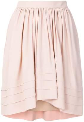 Chloé flared asymmetric skirt
