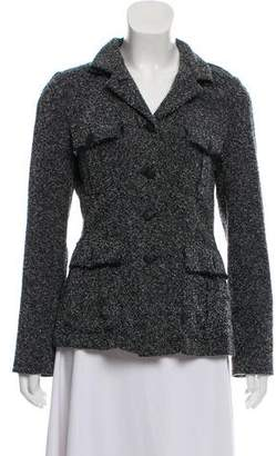 Rag & Bone Button-Up Bouclé Jacket